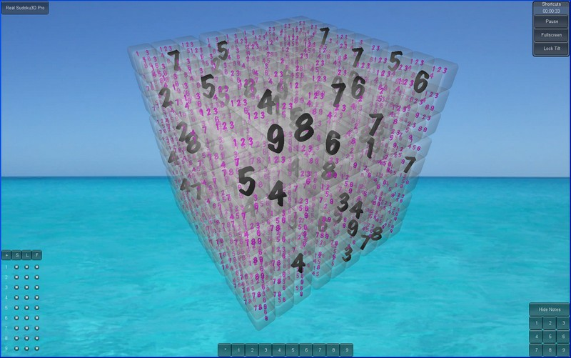 Real Sudoku3D Mac full screenshot